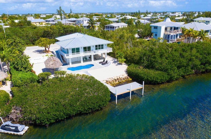 Brand New Modern Ocean Front Luxury Home