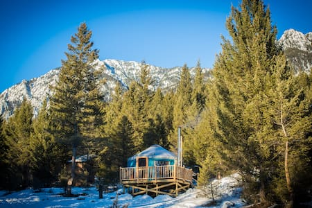 Hike In Yurts @ Radius - THE ROOST