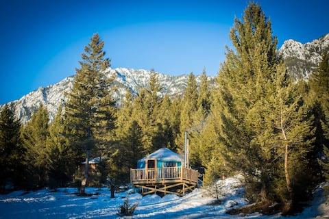 Hike In Yurts @ Radius - THE ROOST