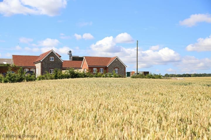 Down Court Farm Cottages Sleeps 8, The rural location offers a spectacular stay upon a working farm.