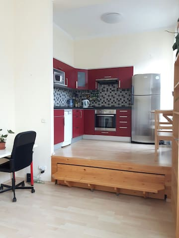 New studio apartment in Prague, Free Parking! - Prag - Daire