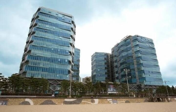 #해운대해수욕장#Haeundae Beach##팔레드시즈콘도##70평##럭셔리Condo