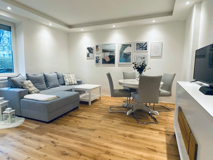 Brand-new, cozy flat- 10 min away from city center