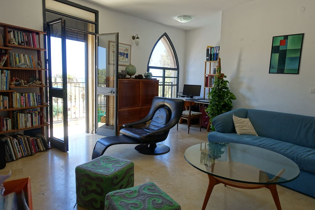 Living room what exit to The seafront front balcony