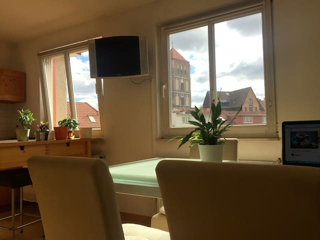 70 qm City Apartment - Rostock - Apartemen