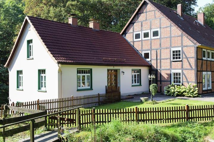 Schicke Ferienwohnung am Waldrand in Hessisch Oldendorf (D)
