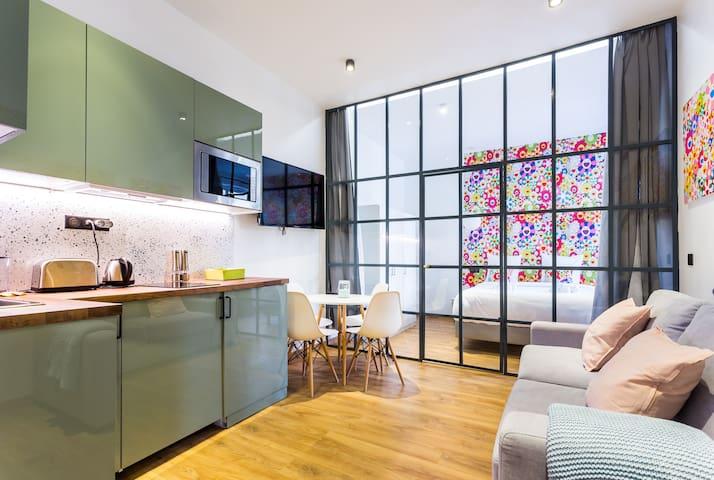 Charming apartment 4P - Marais/République