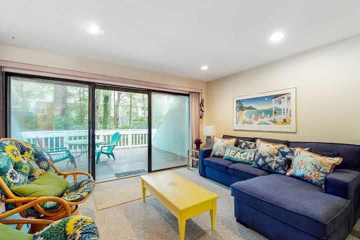 Sea Colony Tennis 1st-floor condo with a shared gym and free WiFi!