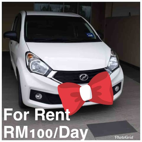 First come first serve basis.  5 seater Automatic Transmission RM100/day Fuel : Full to Full (Ron 95)