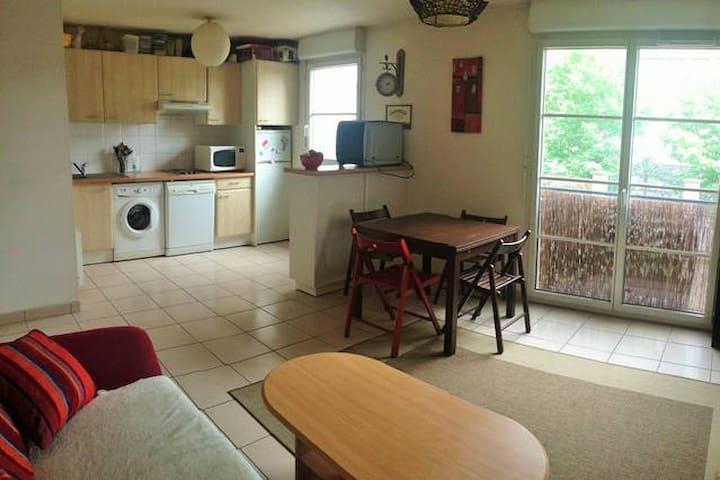 T3 cozy 65m² - 2chb -Disneyland Paris-Tout Confort - Lagny-sur-Marne - Apartemen