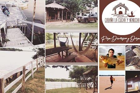 Authentic Fishing Lodge in Cerrito