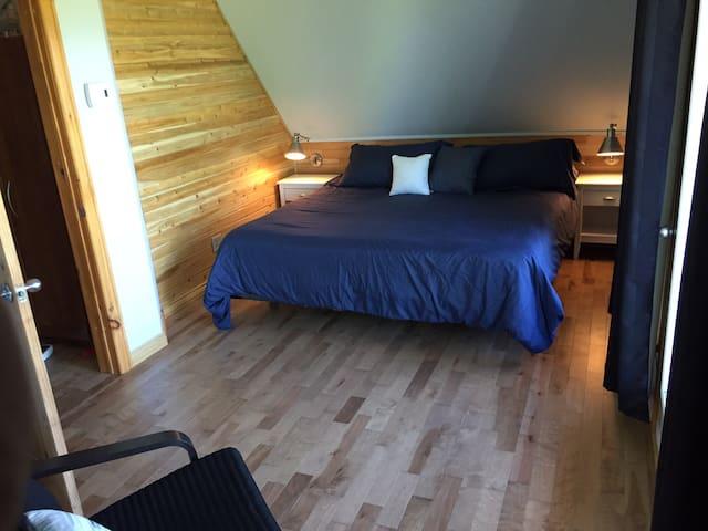 chambre lit king avec vue, 2e étage