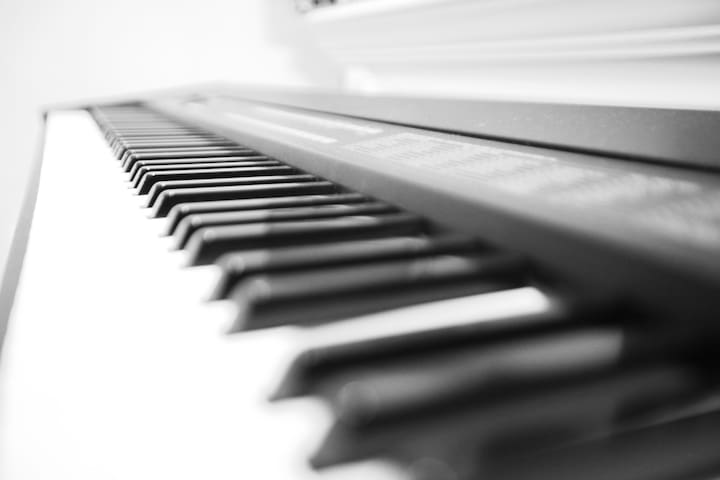 Ivories waiting to be tickled.