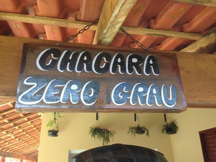 Chácara Zero Grau/ Alugo para descanso familiares