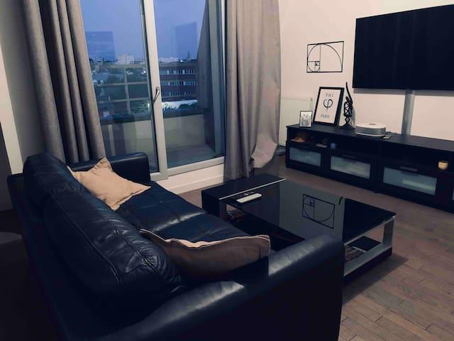 Appartement fonctionnel proche de Paris