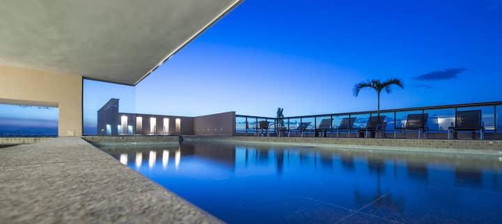 Loft com Piscina e Academia no Centro de Itaboraí