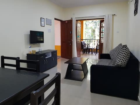 A3 Comfort Stay . 2bhk flat swimming pool facing