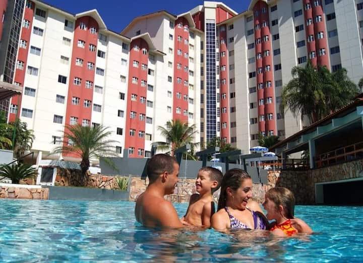 Apartamento -Águas Termais Caldas Novas