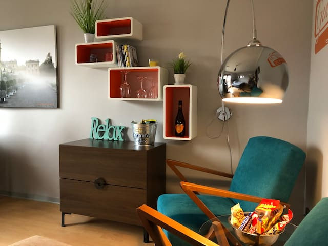 ab nach kassel das wohlf hlapartment appartamenti in affitto a kassel he germania. Black Bedroom Furniture Sets. Home Design Ideas