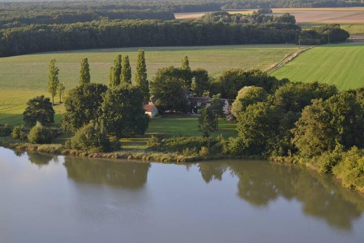 Pleine nature avec piscine - Vallée de la Loire