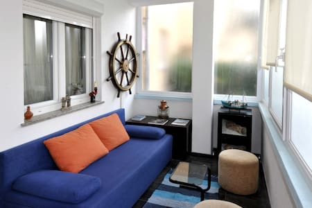 Aquarium sea themed studio apartment near Pula