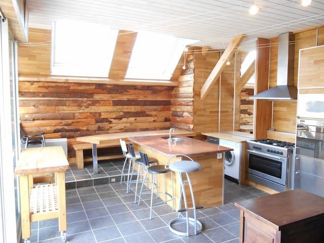 Maison gite Le Claux Puy Mary - Le Claux - Dům