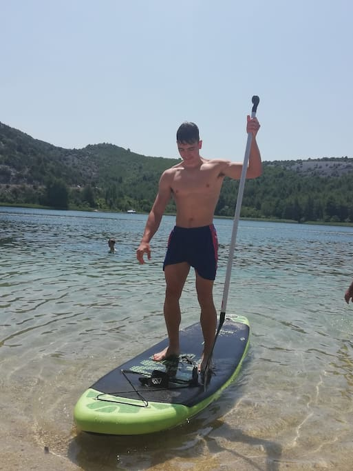 SUP - stand up paddle included in price
