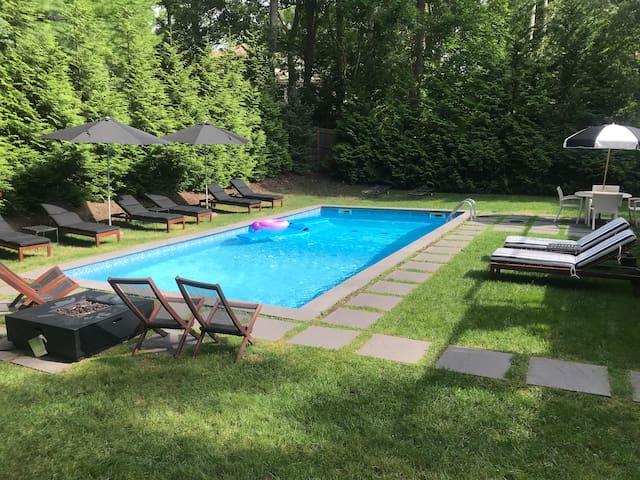 New! Hamptons Sag Harbor Village Pool& Beach House