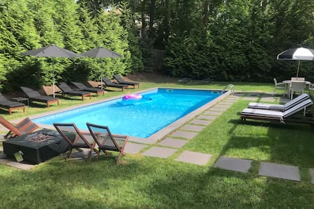 New! Hamptons Sag Harbor Village Pool& Beach House