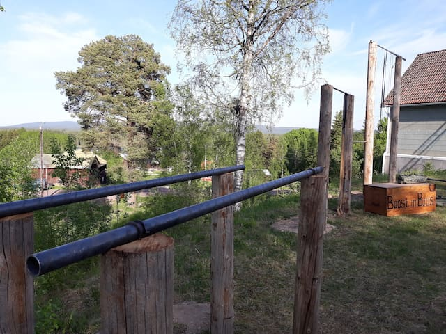 Callisthenics park, you can use it for free.