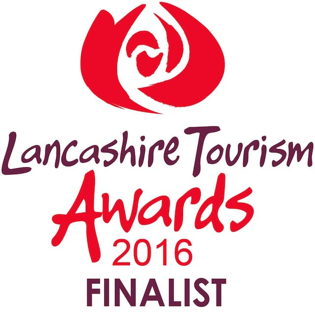 We were finalists in the Lancashire Tourism Awards