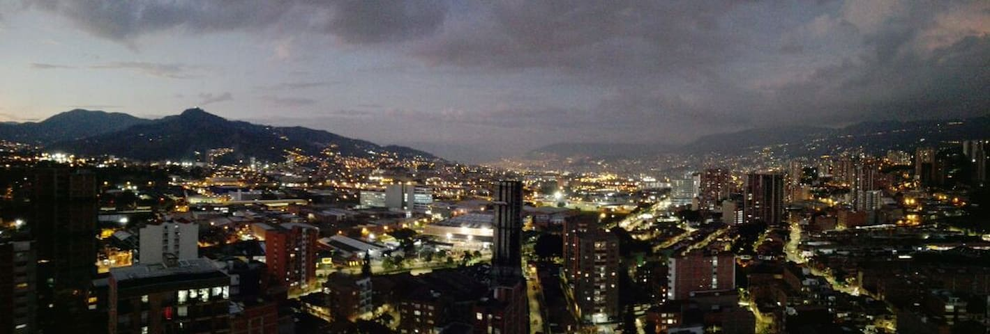 Modern Apartment, Great View, Medellin Sabaneta