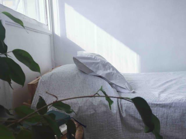 Acogedora habitación con linda vista - Providencia