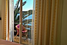 Paradise house 50m from sea, amazing view, room2
