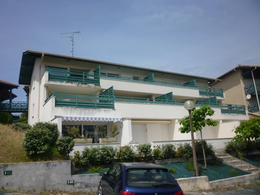 Edificio Tamarís, último piso segunda terraza