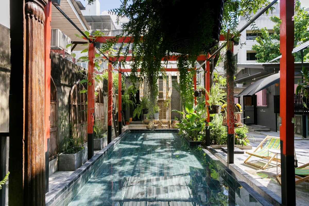 The Anonymous House, Heritage Home in Silom with Plunge Pool