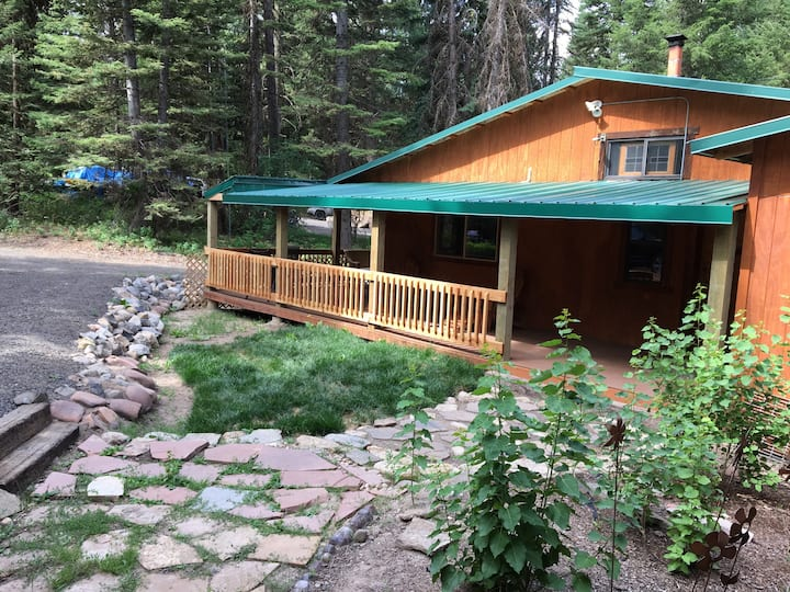 Forested cabin..Jodi's place