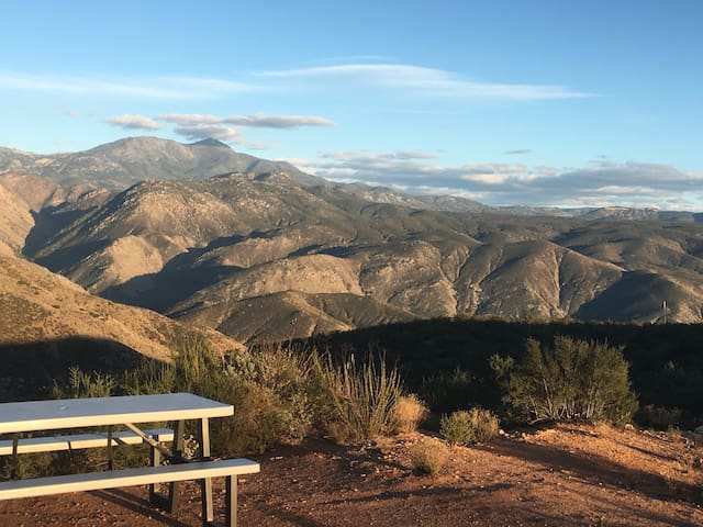 Ranch Camping, Trails, Views & Animal interaction