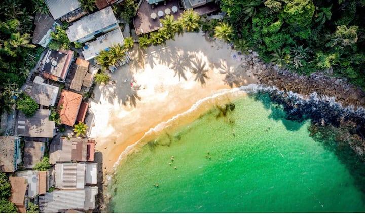 Casa Frente ao Mar -  Paraíso no Guarujá
