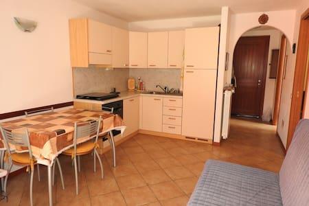 Appartamento piano terra con giardino e terrazza - Vezza d'Oglio - อพาร์ทเมนท์