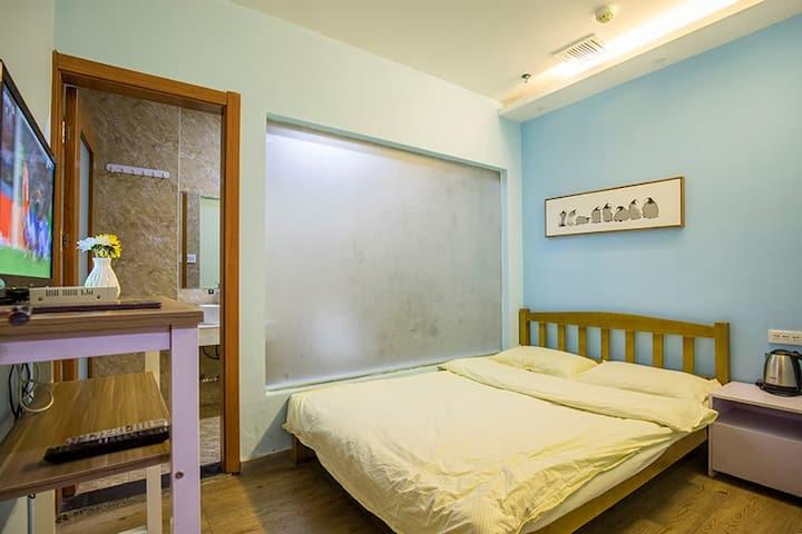 西宁河湟记忆青年旅舍----大床房(无窗)