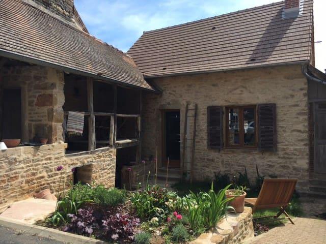 Gîte de charme en Côte Chalonnaise - Montagny-lès-Buxy - Casa