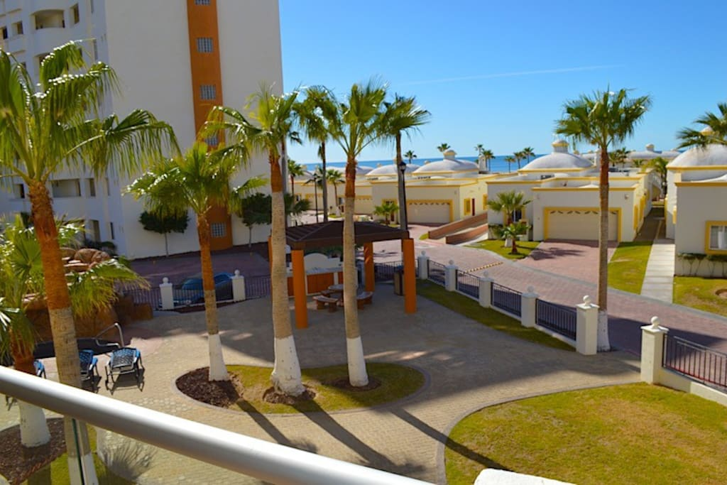 View of the Sea of Cortez from the Balcony