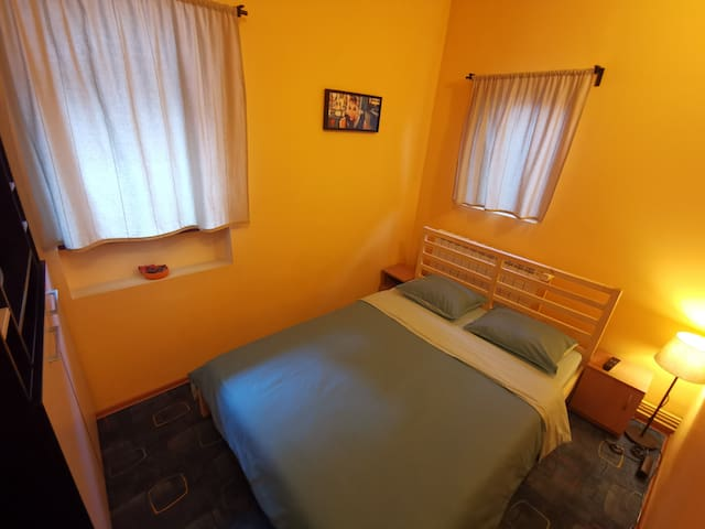 3'rd room with double bed 140 cm, TV, Wi-Fi