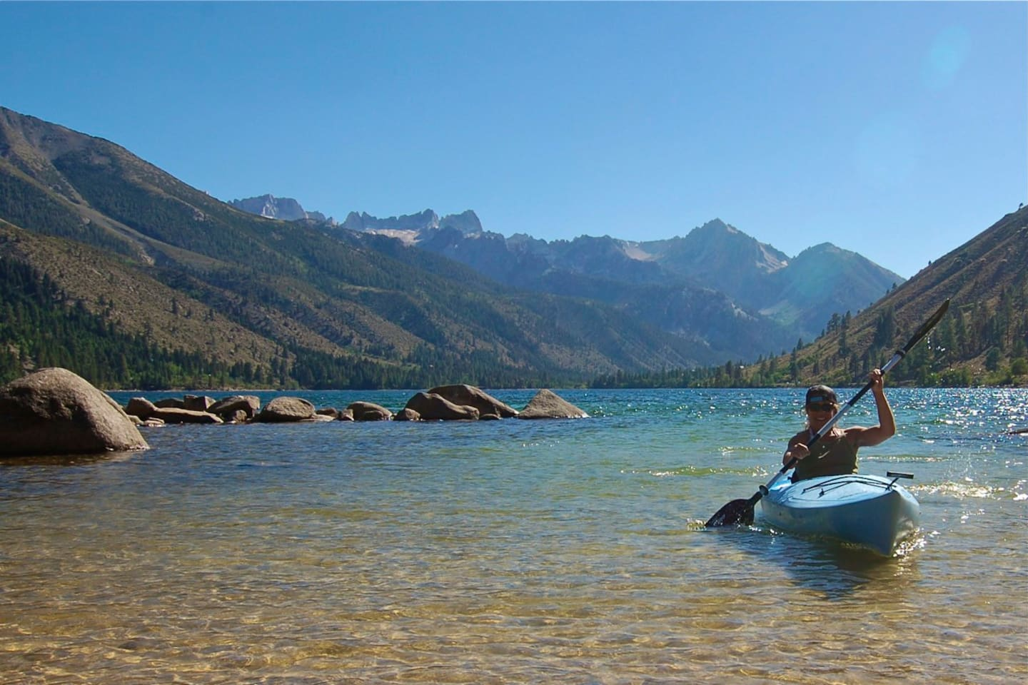 Twin Lakes, CA - a 15 minute drive from here