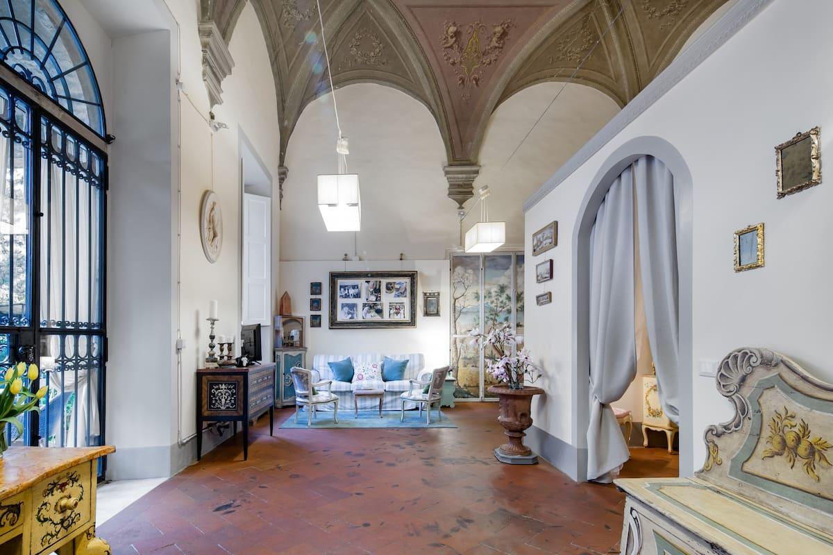 The Twins Boboli House, lussuoso loft ricco d'arte nel centro storico fiorentino