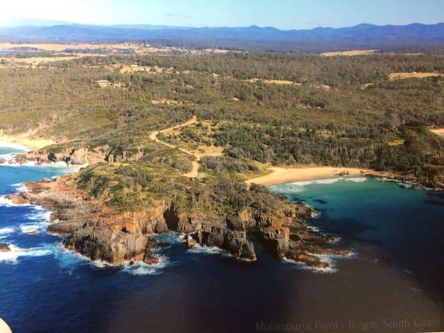 Arinya at Bingie Guest Studio- Far South Coast NSW