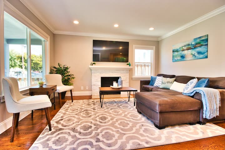 ⭐️ Luxe Remodel ⭐️ Downtown SJ ⭐️5★Home ⭐️⭐️⭐️⭐️⭐️