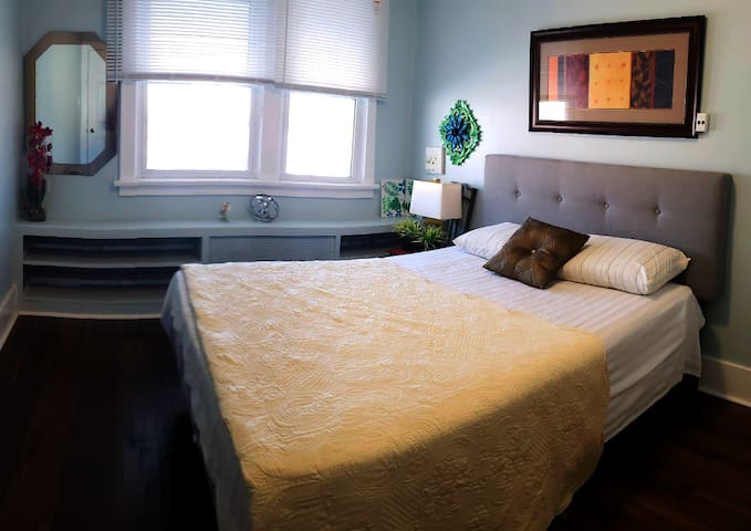 Room #1  in a Cozy Apartment + FREE PARKING