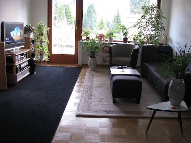 Schönes Zimmer in Haus mit Garten - Osnabrück - Rumah